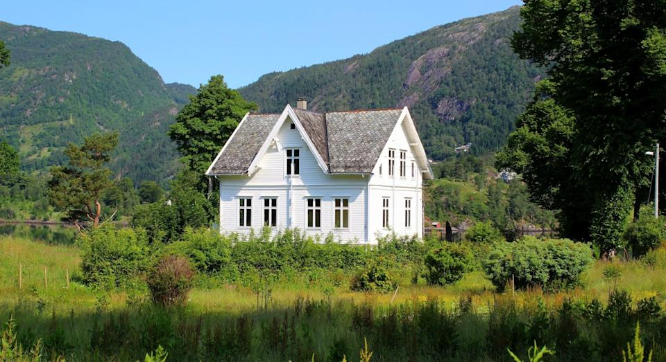 Called Ulvsnesøy, the island was once home to a school for 'misbehaving boys' (JamesEdition)