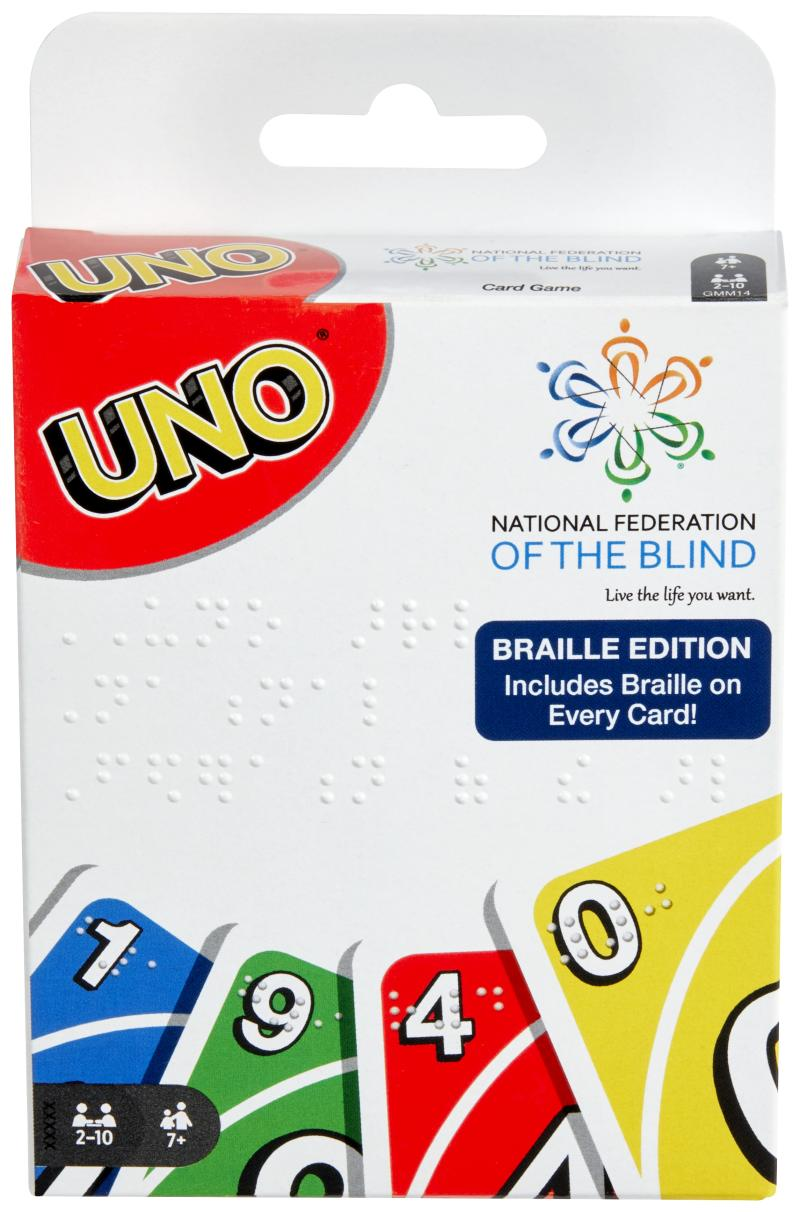 UNO® Introduces First Official Braille Deck