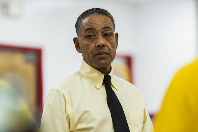 "Giancarlo Esposito as Gustavo ""Gus"" Fring in AMC's 'Better Call Saul' (Photo: Michele K. Short/AMC/Sony Pictures Television)"