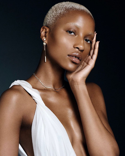"""""""I love this look because it gives a slight tonal shift and iridescence on the platinum-blond trend,"""" says Clairol color partner <a href=""""https://www.thewallgroup.com/artist/jeremy-tardo"""" rel=""""nofollow noopener"""" target=""""_blank"""" data-ylk=""""slk:Jeremy Tardo,"""" class=""""link rapid-noclick-resp"""">Jeremy Tardo,</a> who recommends this shade for anyone who's getting bored with true platinum but still loves a superlight shade. Ask your stylist for an extra-light blond with pale yellow undertones, and make sure to stress you don't want anything too gray-toned."""