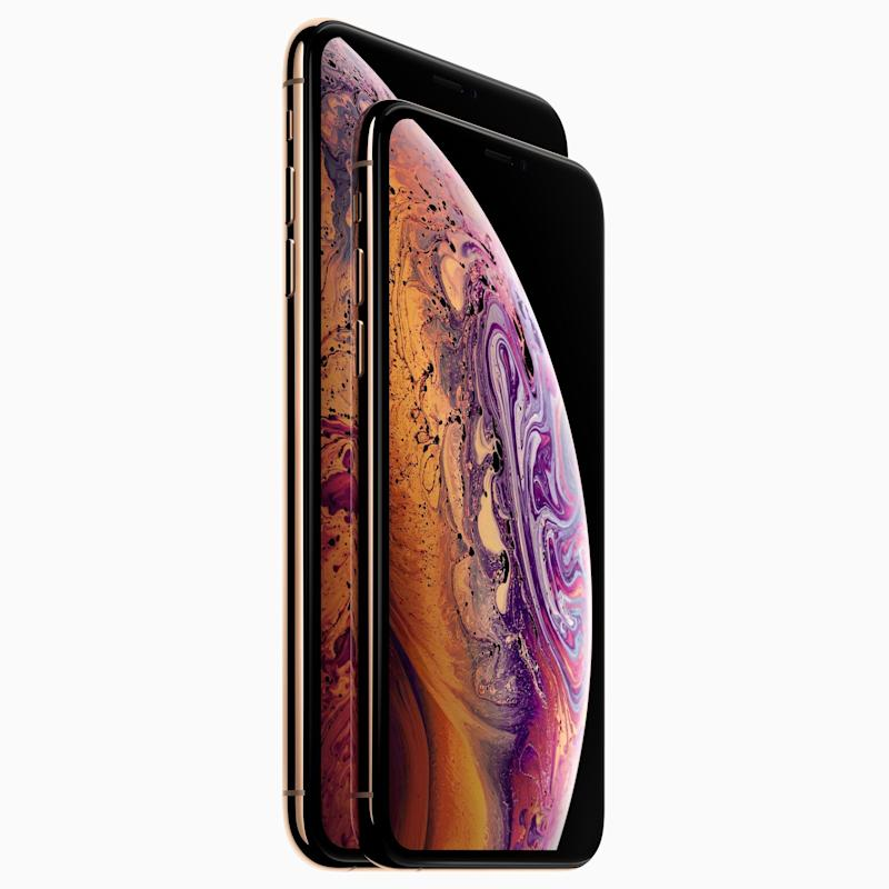 Apple's iPhones are among the best smartphones of 2018. (image: Apple)
