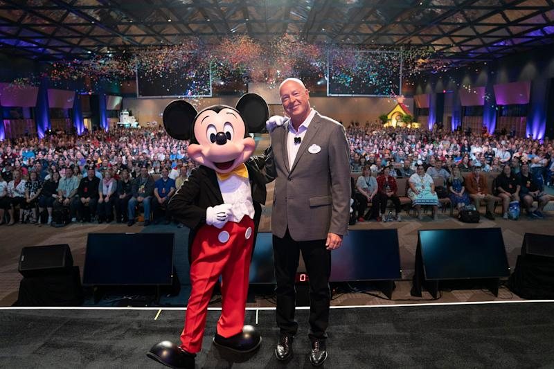 Walt Disney Co. names Bob Chapek new CEO. Bob Iger to stay on as company executive chairman