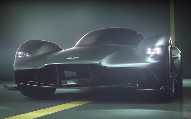 The 'Valkyrie' is the new name of Aston Martin's new hypercar, previously designated the AM-RB 001