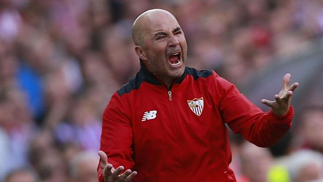 Persistent rumours surrounding his future are beginning to test the patience of Sevilla head coach Jorge Sampaoli.