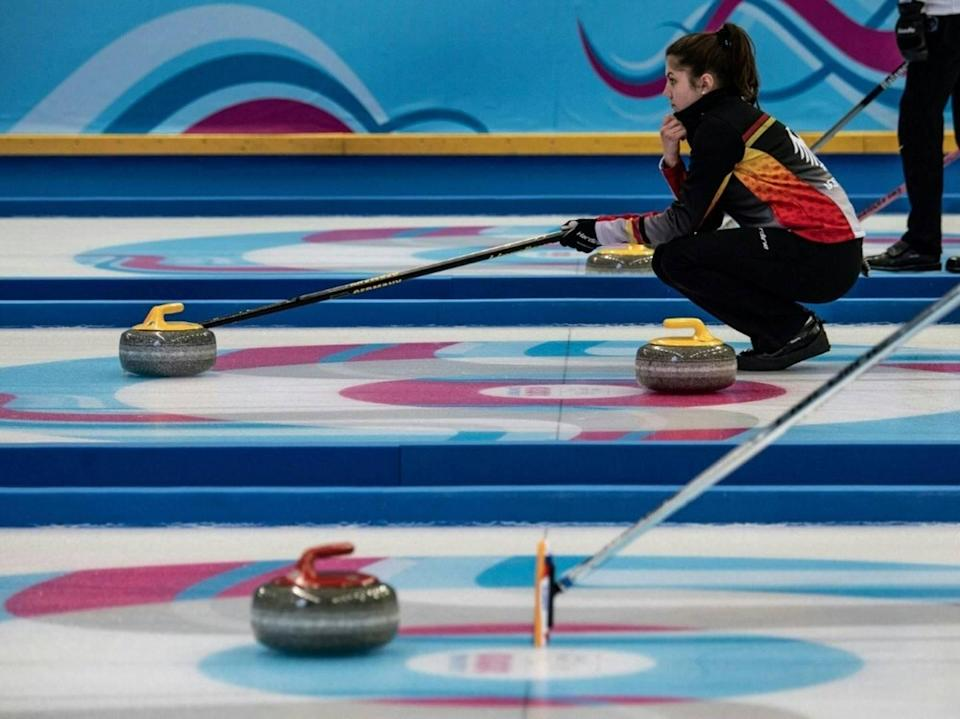 Curling-Mixed-Team wahrt Chance auf Olympia