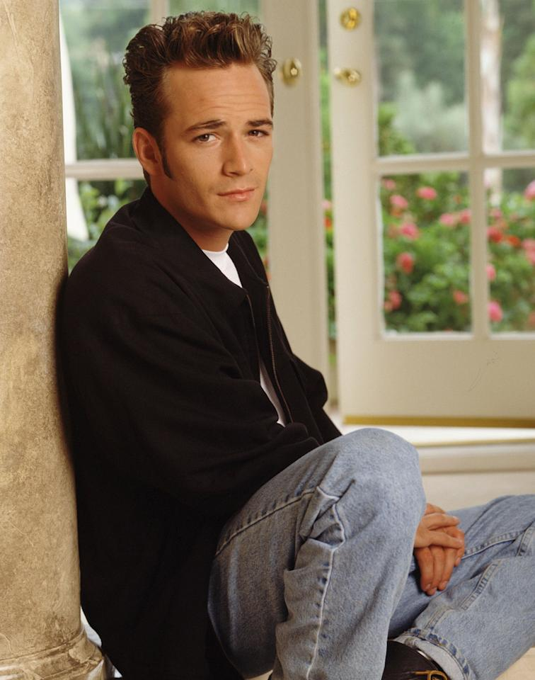 """Beverly Hills, 90210"" Luke Perry as Dylan McKay"