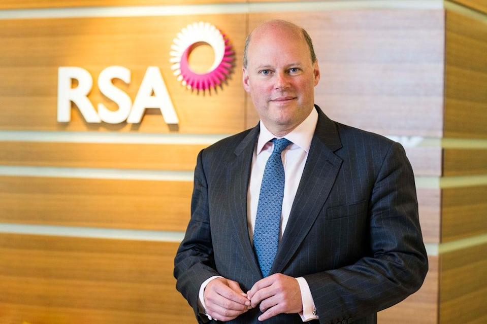 Mr Hester led RSA when it was sold earlier this year (RSA/PA) (PA Archive)