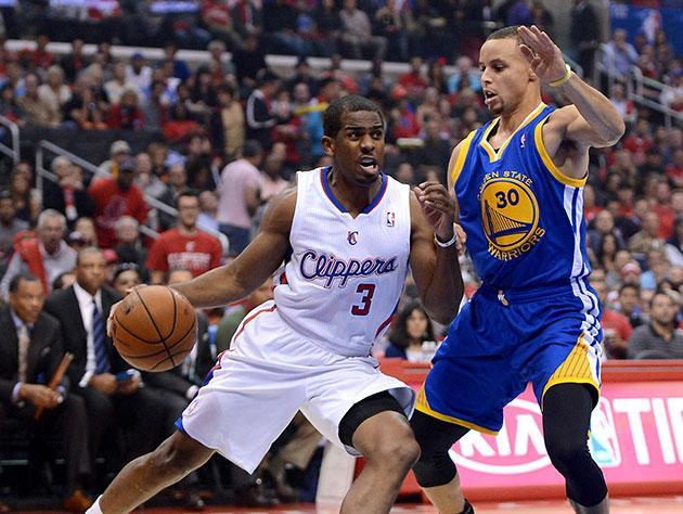 Chris Paul out-duels Stephen Curry, becomes first 40-15-5 player in 40 years as Clippers beat Warriors (Videos)