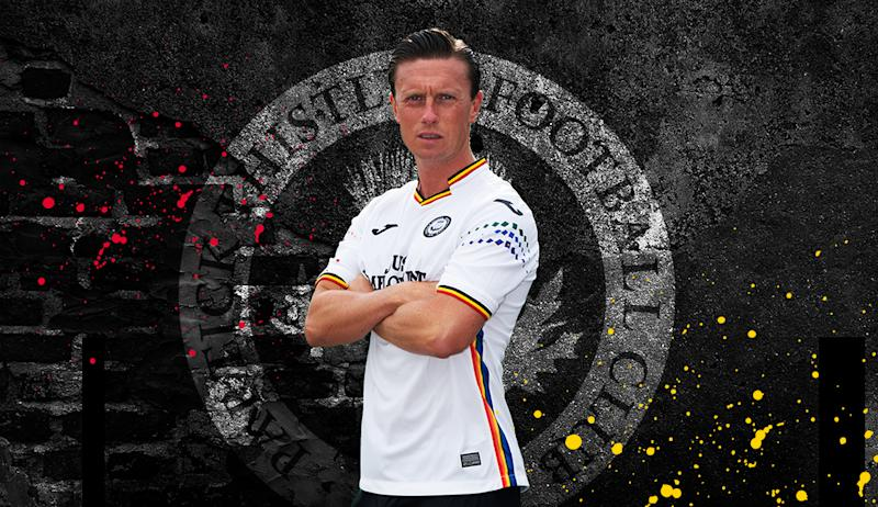Partick Thistle's new 'pride' kit has caused controversy with some