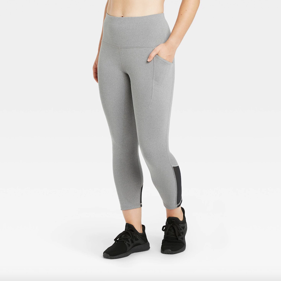 """<h3>All In Motion Sculpted High-Waisted Capri Leggings</h3><br><br>According to reviewers, this pocketed pair of capri-style leggings: pass the """"Wore to Walt Disney World"""" comfort-test; come equipped with a pocket that, """"fully supports the weight of an iPhone""""; and are """"better than any competition.""""<br><br><strong>All in Motion</strong> Sculpted High-Waisted Capri Leggings 21"""", $, available at <a href=""""https://go.skimresources.com/?id=30283X879131&url=https%3A%2F%2Fwww.target.com%2Fp%2Fwomen-s-sculpted-high-waisted-capri-leggings-21-all-in-motion%2F-%2FA-79321824"""" rel=""""nofollow noopener"""" target=""""_blank"""" data-ylk=""""slk:Target"""" class=""""link rapid-noclick-resp"""">Target</a>"""