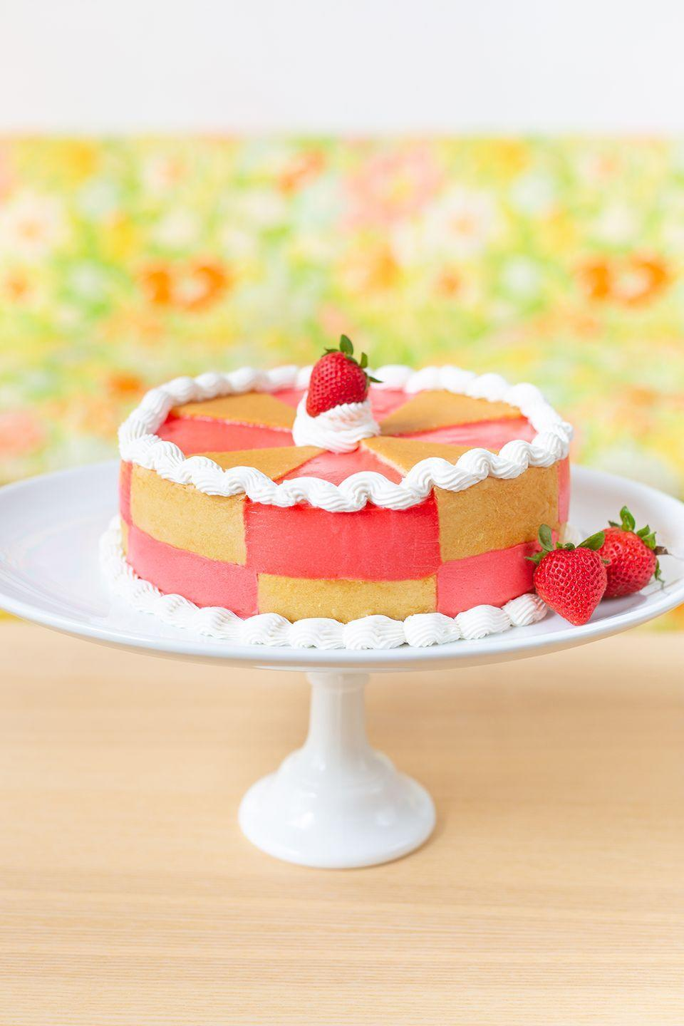 "<p>Truly, how cute is this Jell-O cake? The recipe is from a 1978 magazine, so it's totally possible you enjoyed this exact treat, or one like it, as a child. All of its retro glory is enough to make us want to throw our very own vintage-themed 50th birthday party!</p><p><strong>Get the recipe from <a href=""http://www.awwsam.com/2020/04/pink-magic-jello-cake.html"" rel=""nofollow noopener"" target=""_blank"" data-ylk=""slk:Aww Sam"" class=""link rapid-noclick-resp"">Aww Sam</a>. </strong></p><p><strong><a class=""link rapid-noclick-resp"" href=""https://go.redirectingat.com?id=74968X1596630&url=https%3A%2F%2Fwww.walmart.com%2Fip%2FCrosby-Street-Cake-Stand-Pedestal-Plate-Vintage-Style-Crystal-Clear-Glass-Distinct-All-Over-Pattern-7-Inch-Diameter%2F769297093&sref=https%3A%2F%2Fwww.thepioneerwoman.com%2Fhome-lifestyle%2Fentertaining%2Fg34192298%2F50th-birthday-party-ideas%2F"" rel=""nofollow noopener"" target=""_blank"" data-ylk=""slk:SHOP VINTAGE-INSPIRED CAKE STANDS"">SHOP VINTAGE-INSPIRED CAKE STANDS</a><br></strong></p>"