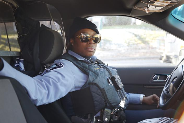 Sgt. Alice White is among the female police officers profiled in the new documentary, 'Women in Blue' (Photo: Courtesy of The 2050 Group)