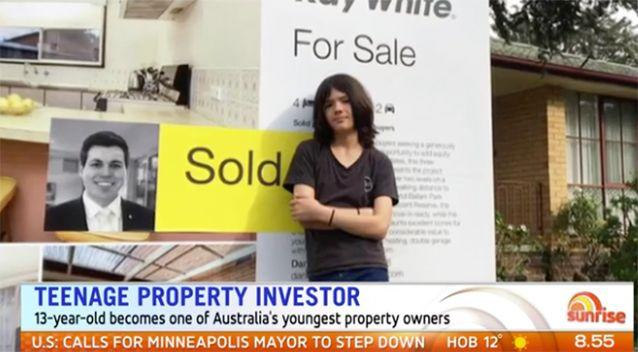 Akira Ellis could be Australia's youngest property investor.