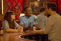<p>Every neighborhood bar is made better by being friends with the bartender. In <em>New Girl,</em> they take it a step further by making the crew's roommate, Nick Miller, the bartender at their regular spot. The gang drinks for free and in exchange spends most of their nights in the '70s style bar.</p>