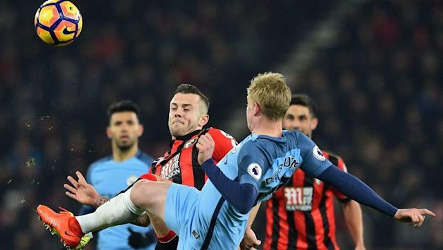 <p>On a number of occasions this season, there has been speculation linking Wilshere with a surprise move to the Etihad to join Manchester City.</p> <p>City boss Pep Guardiola recently spoke of his admiration for Wilshere and his former player, Xavi, also claimed Guardiola would love to sign the midfielder.</p> <p>Despite the probability of Champions League football and financial lure that City can offer, it's unclear whether Wilshere would be a guaranteed starter with the likes of De Bruyne, Silva and Toure there.</p>