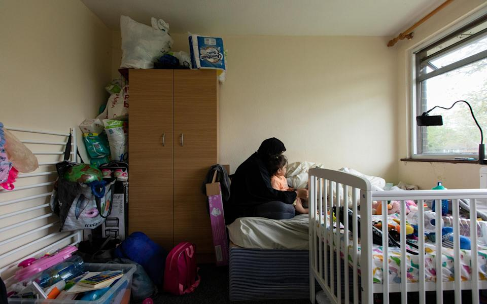Eman moved to the UK for the safety of her daughter - LAURA DODSWORTH