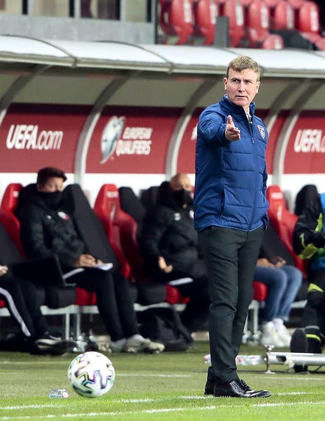 Former Republic of Ireland manager Stephen Kenny has blooded young players in the senior team
