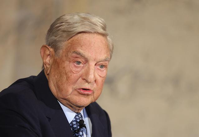 Investor George Soros made over £1 billion in profit by short selling sterling in the months leading up to Black Wednesday (Sean Gallup/Getty Images)