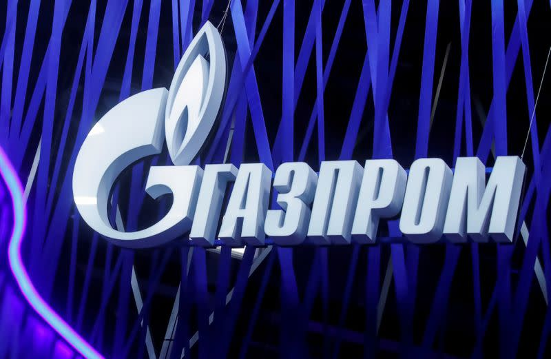 Russian Gazprom's quarterly profit falls on lower export prices, volumes