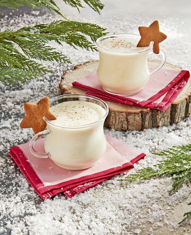 """<p>You could have regular eggnog—or you could put gingerbread in your eggnog to double your sugar rush.</p><p><strong><a href=""""https://www.countryliving.com/food-drinks/a25474615/gingerbread-eggnog-recipe/"""" target=""""_blank"""">Get the recipe</a>. </strong></p>"""