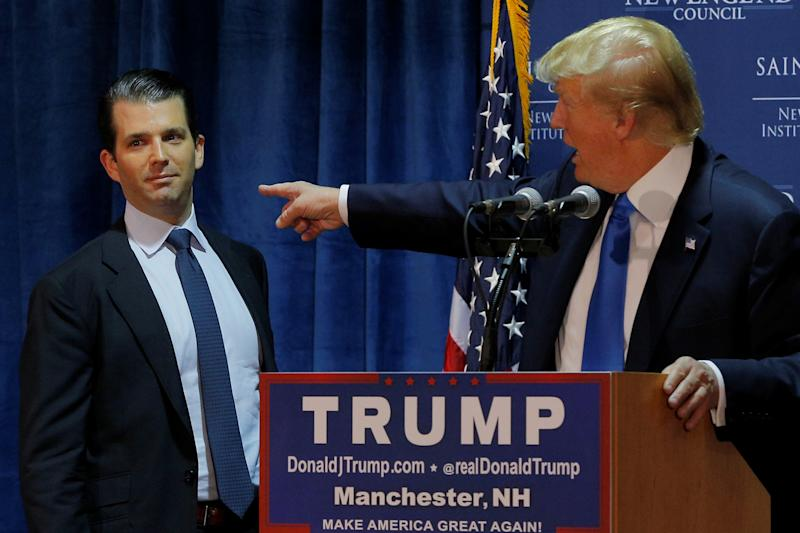 Donald Trump Jr., Paul Manafort invited to testify before Senate Judiciary Committee