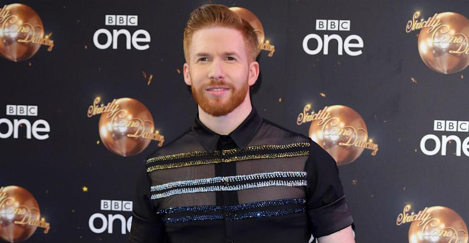 Neil Jones has fuelled speculation that Joe Sugg and Dianne Buswell are getting engaged (Getty)