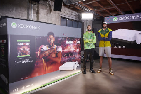 Xbox Announces Special Edition Xbox One X NBA® 2K20 Console Bundle