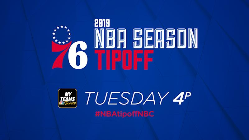 2019-20 NBA Tipoff Show: How to watch on MyTeams app