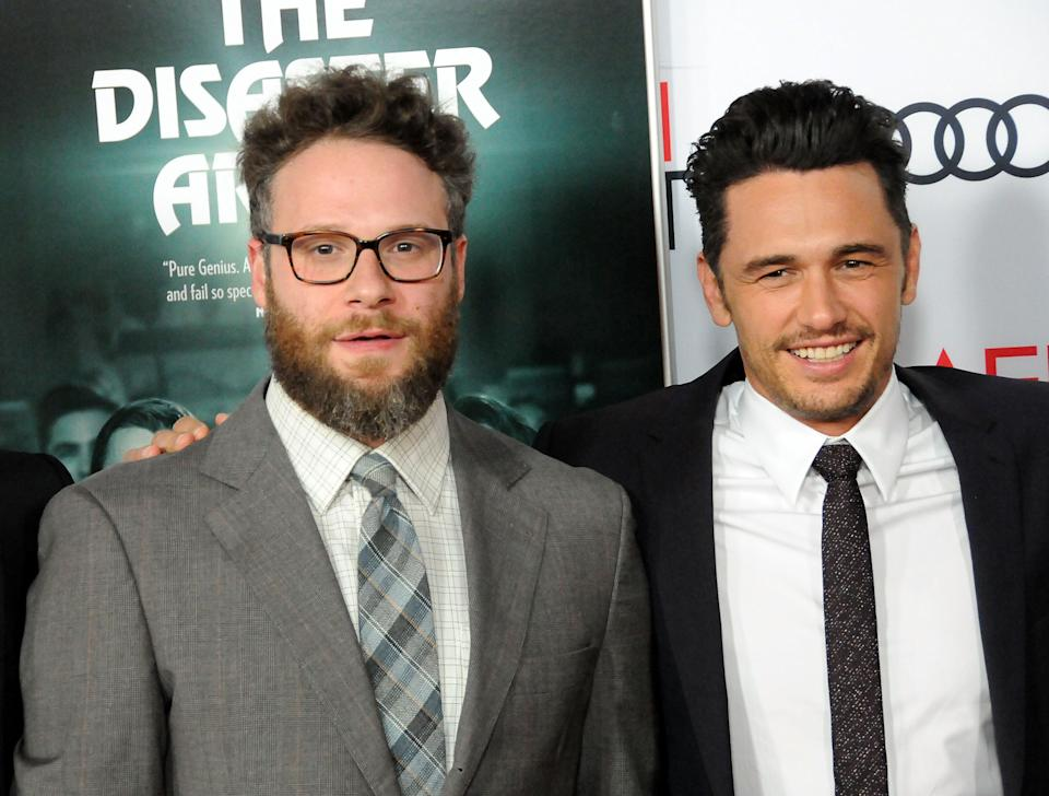 Seth Rogen has said he will no longer work with James Franco. (Photo by Barry King/Getty Images)
