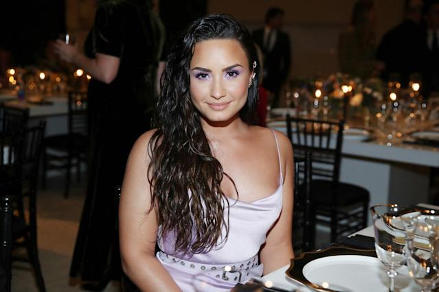 "<p>Lovato, who appeared on <em>Camp Rock</em>, agrees with pal Selena Gomez about the Disney Channel being like high school. ""We joked around that it was Disney High, except we all were shooting shows and really overworking,"" she told <a href=""http://www.billboard.com/articles/news/magazine-feature/7445798/demi-lovato-nick-jonas-billboard-cover-interview-friendship-touring-pop-stardom"" rel=""nofollow noopener"" target=""_blank"" data-ylk=""slk:Billboard"" class=""link rapid-noclick-resp""><em>Billboard</em></a>. ""I joke that I sometimes have PTSD after leaving the channel, because if my schedule starts to get too busy, I rebel and I get bitchy."" (Photo: Getty Images) </p>"