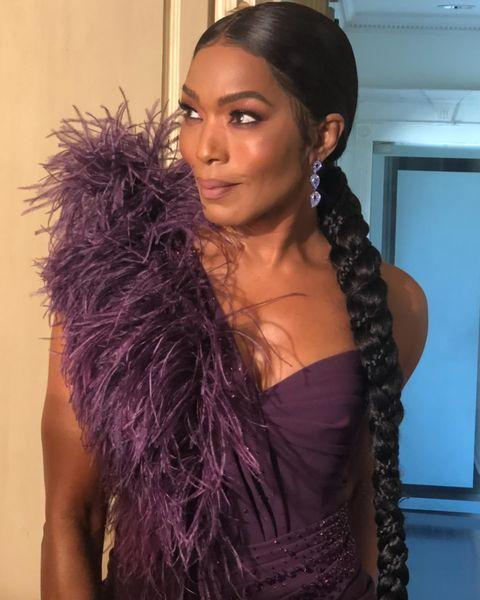 """<p>Look closely at Bassett's braid and you'll see an even smaller braid weaved throughout. This level of braidception is exactly what we'd expect from a beauty and red carpet icon.</p><p><a href=""""https://www.instagram.com/p/CL2s5dIlrCY/"""" rel=""""nofollow noopener"""" target=""""_blank"""" data-ylk=""""slk:See the original post on Instagram"""" class=""""link rapid-noclick-resp"""">See the original post on Instagram</a></p>"""
