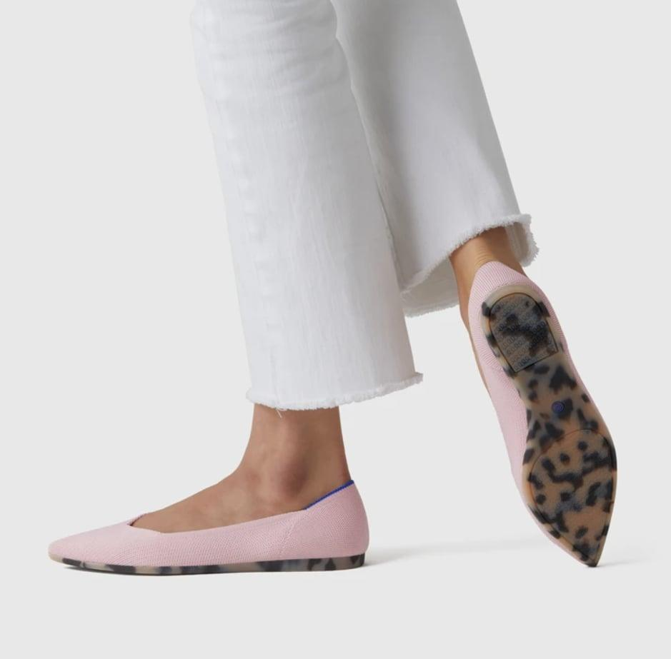 <p>Made from recycled water bottles, <span>Rothy's The Point Flats</span> ($145) are comfy and eco-friendly. Plus, they come in tons of fun colors and patterns.</p>