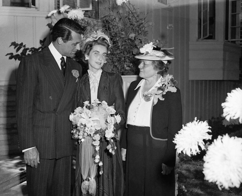 <p>Grant tied the knot with American heiress Barbara Hutton, who at the time was one of the wealthiest women in the world. The couple married in an intimate ceremony on July 8, 1942.</p>