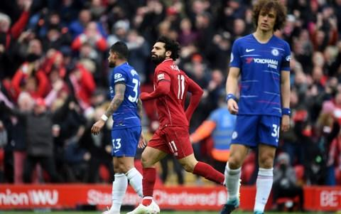 <span>Salah has struck two goals in two games in crucial and spectacular style</span> <span>Credit: Getty Images </span>