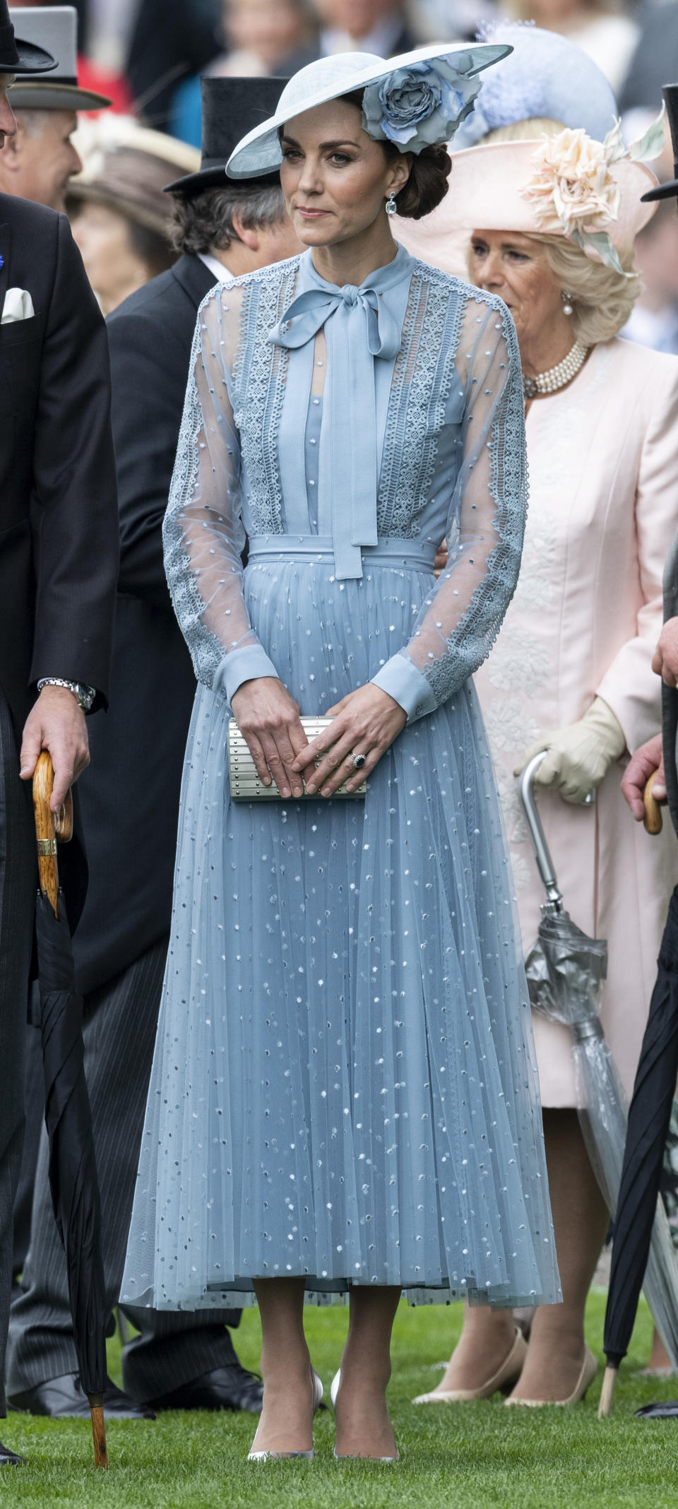 The royal mother-of-three just encouraged us to embrace pastel hues this summer [Photo: Getty]