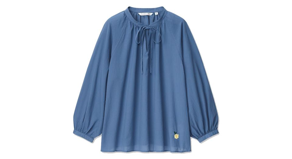 JW ANDERSON VOLUME SLEEVED LONG SLEEVED BLOUSE