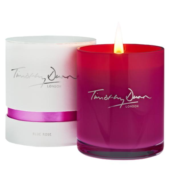 """<b>Blue Rose candle - £42 – Timothy Dunn</b><br><br>Timothy Dunn has created a gorgeous candle housed in an ultra feminine pink glass holder especially for the Awareness Month, with £18 of each candle purchase going to <a href=""""http://www.breastcancercare.org.uk/"""" rel=""""nofollow noopener"""" target=""""_blank"""" data-ylk=""""slk:Breast Cancer Care"""" class=""""link rapid-noclick-resp"""">Breast Cancer Care</a>.<br><br>Available to buy from the <a href=""""http://www.timothydunnlondon.com/blue-rose-breast-cancer-care"""" rel=""""nofollow noopener"""" target=""""_blank"""" data-ylk=""""slk:Timothy Dunn London website"""" class=""""link rapid-noclick-resp"""">Timothy Dunn London website</a>.<br>"""
