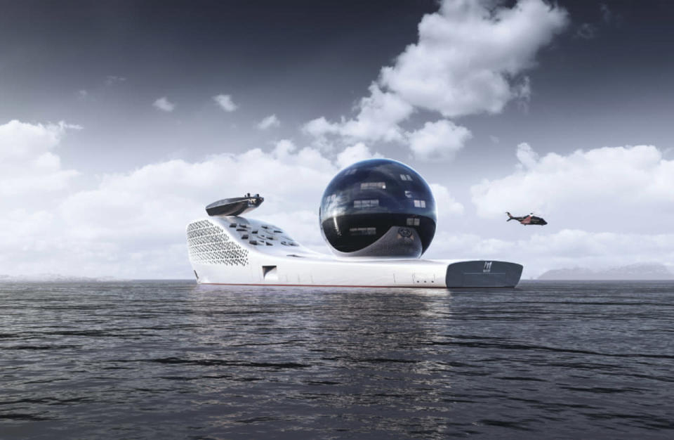 Nuclear-powered superyacht aims to host cutting-edge climate research
