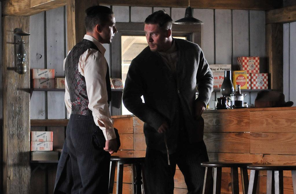 """<a href=""http://movies.yahoo.com/movie/lawless/"">Lawless</a>"" (May 19): Based on a true story, this Prohibition drama stars Shia LaBeouf and Tom Hardy as bootlegging brothers who run afoul of an effeminate lawman (Guy Pearce)."