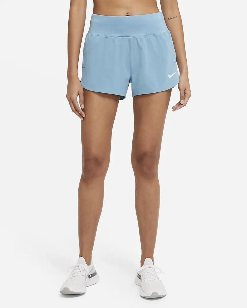 <p>These <span>Nike Eclipse Running Shorts</span> ($50) are easy to move in, plus they have a pocket!</p>