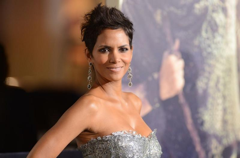 Halle Berry at an event