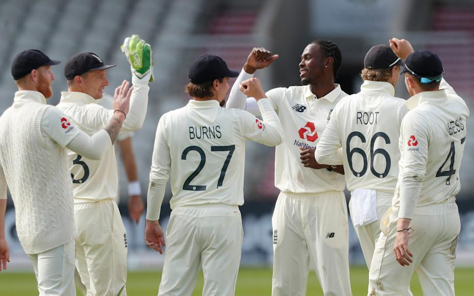 Jofra Archer had a good day with the ball - REUTERS