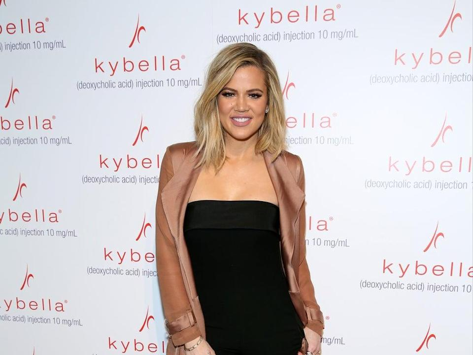 Khloe Kardashian opens up about unhealthy relationship with food and protecting daughter True from same struggles (Getty)