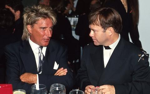 'No, I sold more records': Rod Stewart and Elton John