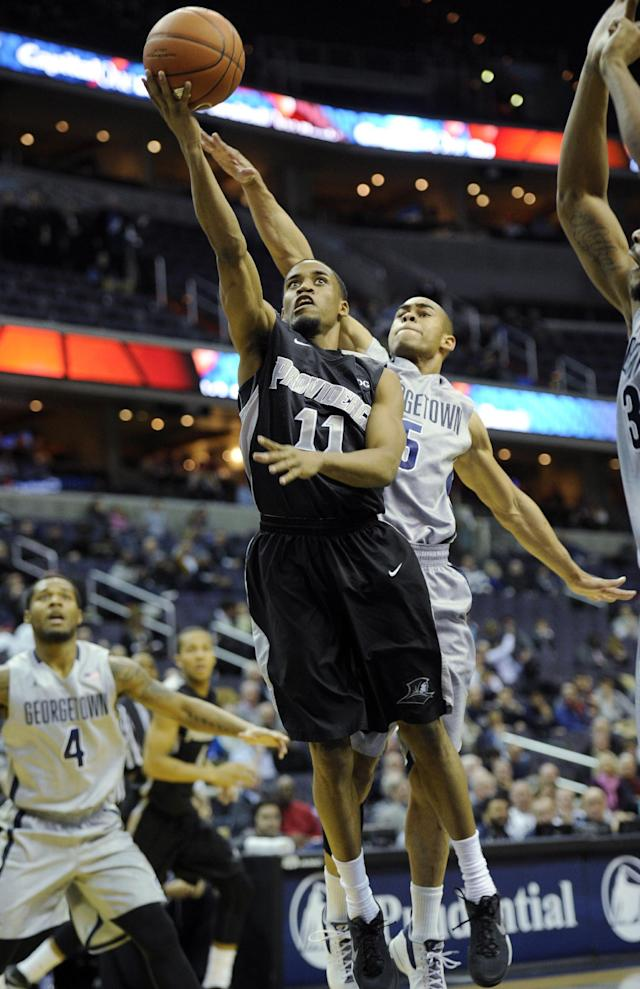 Georgetown tops Providence 83-71, 4th straight win