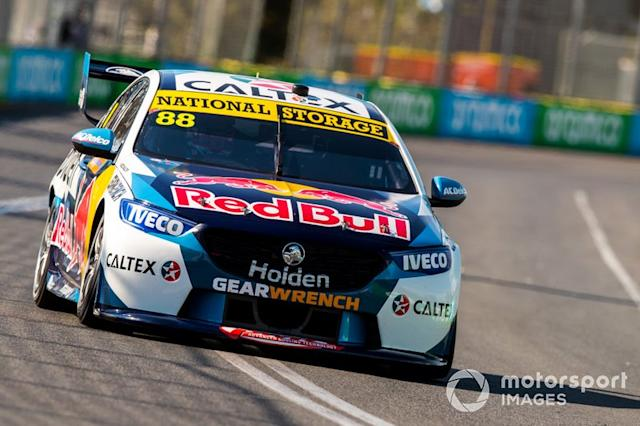 """Jamie Whincup, Triple Eight Race Engineering Holden <span class=""""copyright"""">Dirk Klynsmith / Motorsport Images</span>"""
