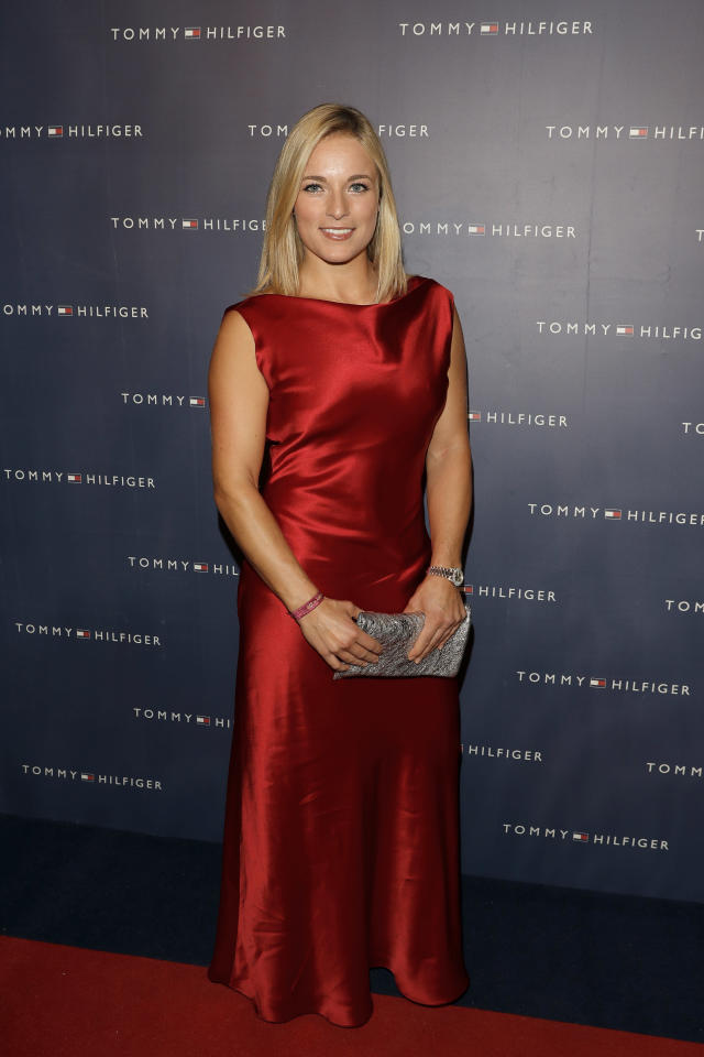 <p>Lara Gut attends the Tommy Hilfiger VIP Dinner in celebration of the 13th Zurich Film Festival on October 6, 2017 in Zurich, Switzerland. (Photo by Andreas Rentz/Getty Images for Tommy Hilfiger) </p>