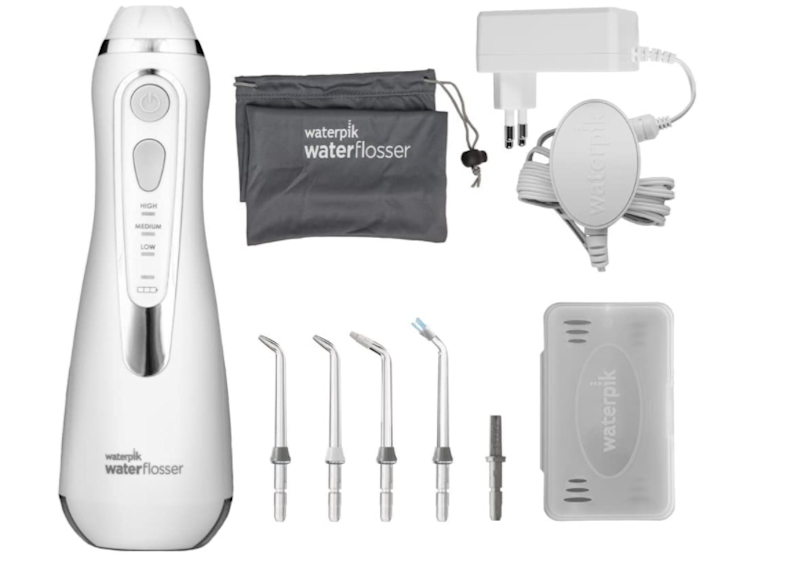Waterpik Wp-560Eu Idropulsore Cordless Advanced, Bianco