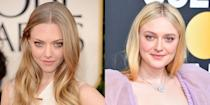 <p>Can we please have Amanda Seyfried play Dakota Fanning's older sister in a movie soon? The actresses are nearly identical with their round faces, full cheekbones, and blue eyes. </p>