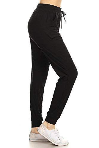 """<p><strong>Leggings Depot</strong></p><p>amazon.com</p><p><strong>$14.99</strong></p><p><a href=""""https://www.amazon.com/dp/B07B8T4L2S?tag=syn-yahoo-20&ascsubtag=%5Bartid%7C2140.g.36331622%5Bsrc%7Cyahoo-us"""" rel=""""nofollow noopener"""" target=""""_blank"""" data-ylk=""""slk:Shop Now"""" class=""""link rapid-noclick-resp"""">Shop Now</a></p><p>If you prefer something that feels a little bit more roomy than leggings but still offers the same level of comfort, reviewers rave about how snug these slim-fitting joggers are.</p><p>""""These are probably the softest pants I've ever owned,"""" says one cozy customer. """"They feel like velvet, and are unique in that they keep me warm in chillier months but are airy and breathable enough to wear during the sticky, humid summer months.""""</p>"""